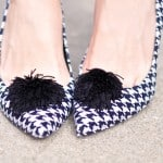 Houndstooth DIY shoes
