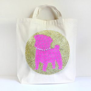 Decorating Tote Bags with Mod Podge