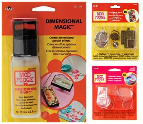 Mod Podge jewelry supplies