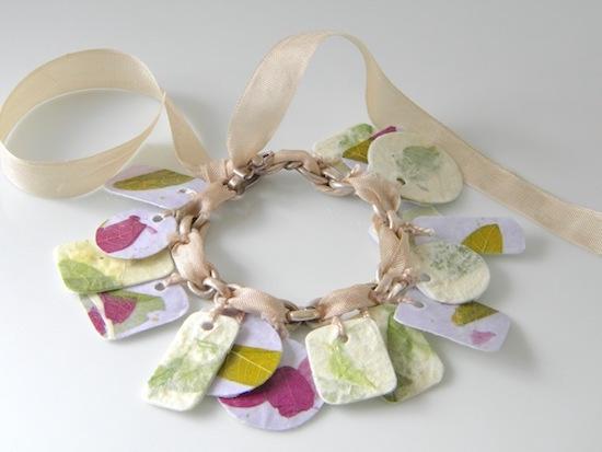Rice Paper Bracelet