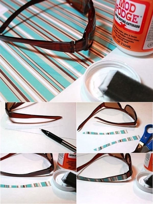how-to-mod-podge-sunglasses