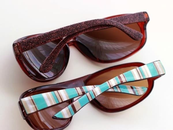 DIY sunglasses - customize them two ways!
