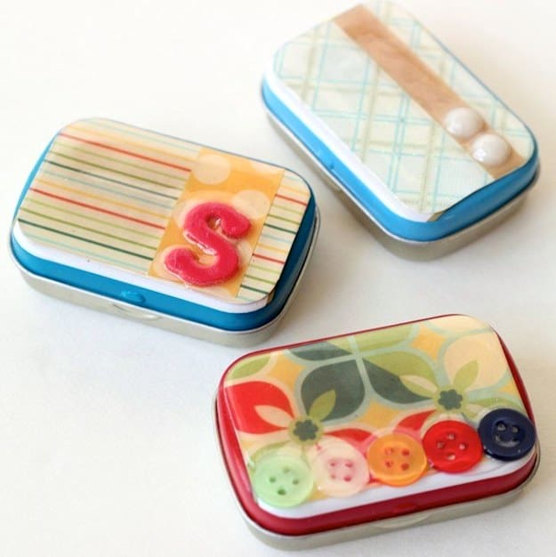 Do you save all of your used Altoids containers in the hopes of crafting with them? Learn how to decorate Altoid tins using Dimensional Magic!
