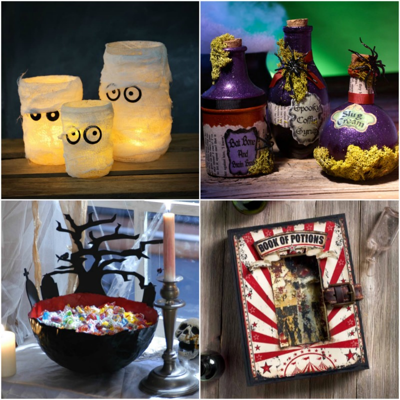 Mod Podge Halloween Crafts