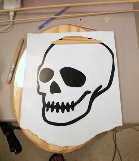 Clip art skeleton decor