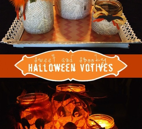 Surprise Halloween votives