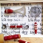 If you are looking for a good way to display your old kitchen tools, this vintage shadow box with Mod Podge is the perfect decor project.