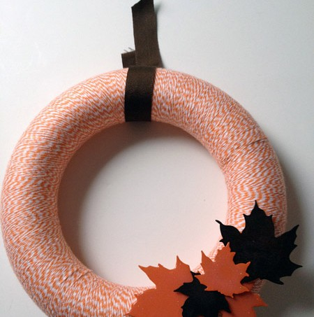 bakers twine fall wreath