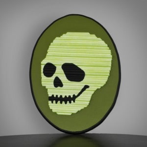 Glow-in-the-Dark Skeleton Decor