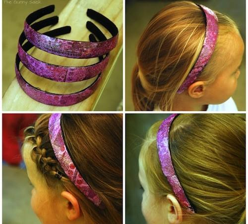 mod podge headband