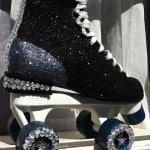 Roller skate glitter revamp