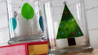 How to Make Christmas Window Clings (with Kids!)