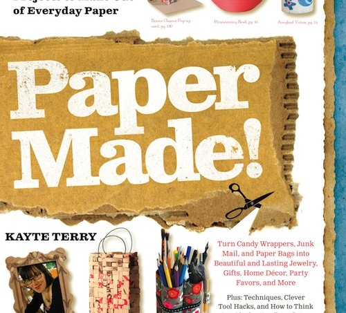 Paper Made by Kayte Terry