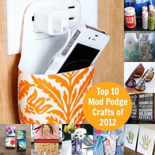 Top 10 Mod Podge Crafts of 2012