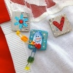 These DIY snow pins are a unique and fun winter craft - and use one of my favorite formulas of Mod Podge: Sparkle! They make great gifts too.
