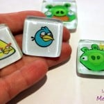 Angry birds craft - make character magnets