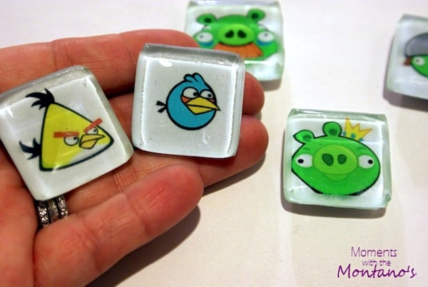 Do you have an obsessed Angry Birds player in the house? This Angry Birds craft is perfect! These magnets are so easy to make with Mod Podge.