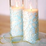 In this cute winter craft, you'll use Mod Podge and dollar store supplies to decorate snowflake votives. So easy and inexpensive!