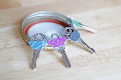 Glow-in-the-Dark Key Toppers