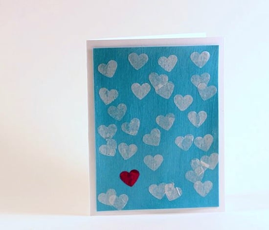 If you're looking for ideas for Valentine's Day cards for kids, you'll love this handmade decoupage card. This DIY is so easy and requires minimal supplies! Perfect for kids to make for teachers or for school mates, but easy enough for adults too.