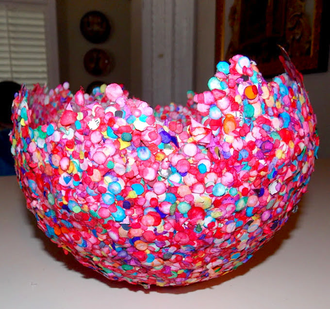 Balloon bowl DIY