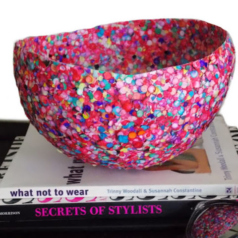 Make a Confetti Bowl