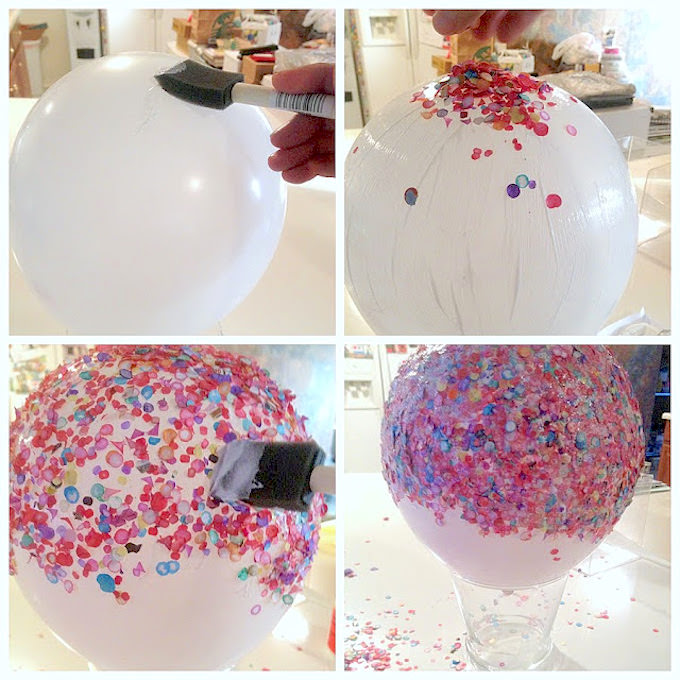 confetti bowl instructions