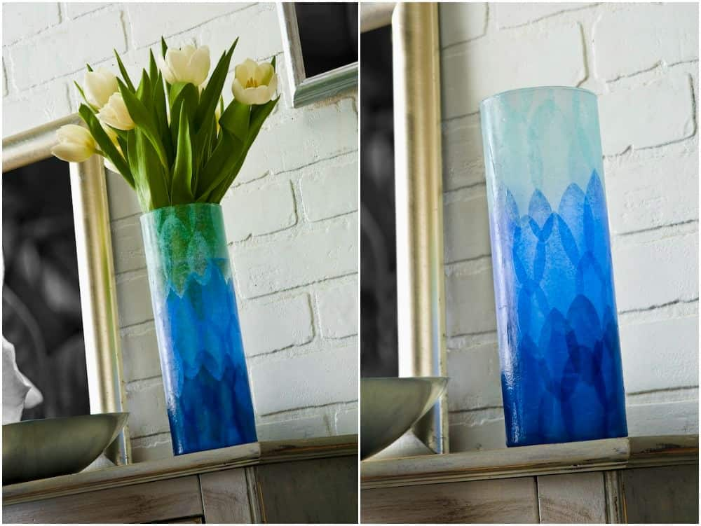 how to decorate with tissue paper