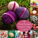 Incorporate decoupage into your holiday festivities with these 18 Mod Podge Easter egg crafts. Ranging from paper to baker's twine, you'll love these ideas.