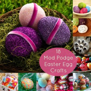 Incorporate decoupage into your holiday festivities with these 18 Mod Podge Easter eggs. Ranging from paper to baker's twine, you'll love these ideas.