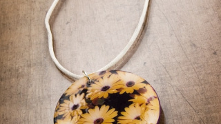 Make Your Own Necklace with a Seed Packet