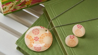 Shrinky Dink Jewelry: Necklace and Earrings