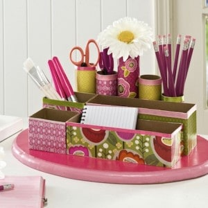 Make a DIY Desk Organizer from Recycled ...