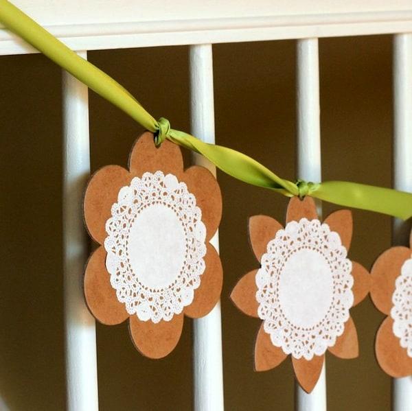 Spring garland ideas