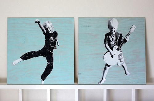 How to Make Large Scale Photo Transfer Wall Art