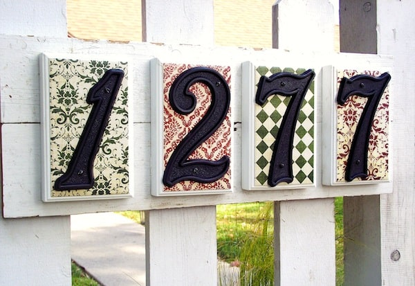 Make a House Number Plaque
