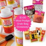 Enter to win a $100 prize pack in this Mod Podge grab bag giveaway!
