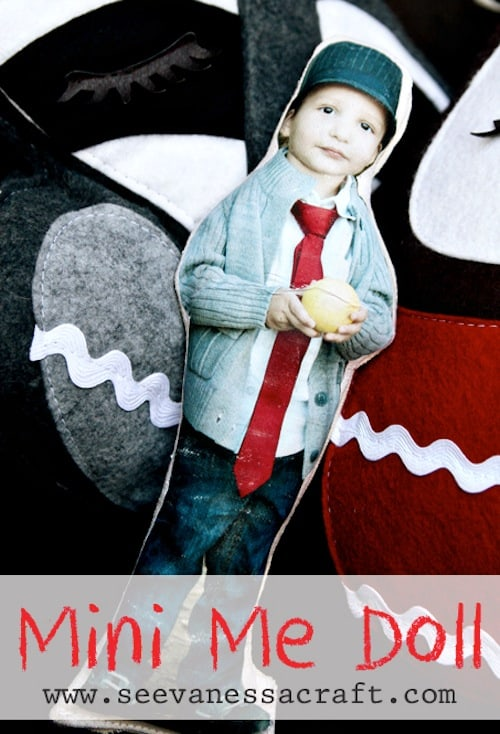 How to make a photo transfer doll