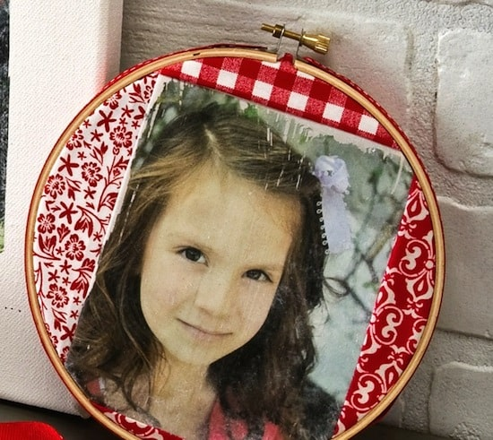 Photo Decor Embroidery Hoop
