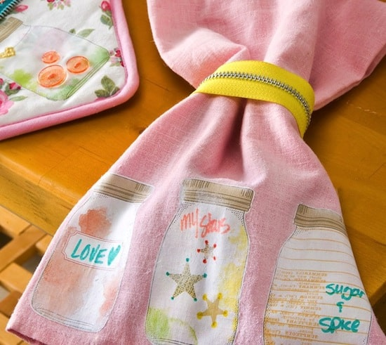 DIY Dish Towel Gifts - Great for Neighbors