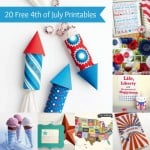20 free 4th of July printables