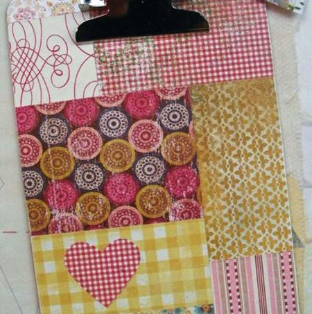 Make a patchwork clipboard