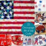 Mod Podge is made in America, so it's perfectly patriotic! Here are over 20 Fourth of July Crafts you'll love to make for the upcoming holiday.