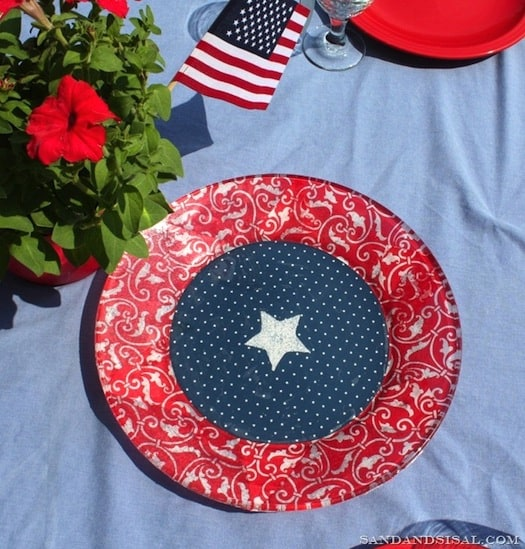 Patriotic Platter for 4th of July
