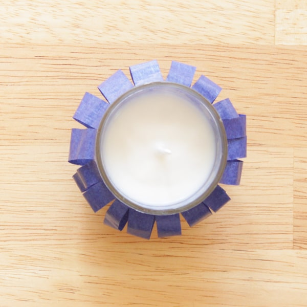 Fourth of July Decorations - votive candle