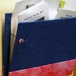 DIY wall folder