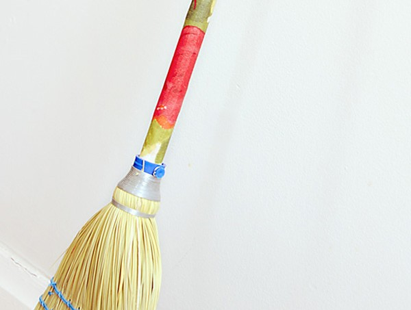 jazz up your broom handle