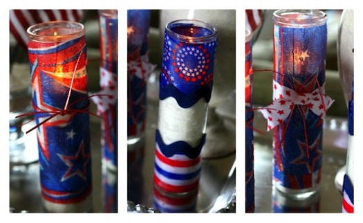 Firecracker Candles for 4th of July