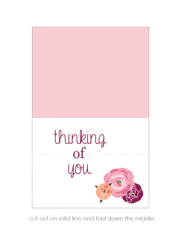 free thinking of you cards