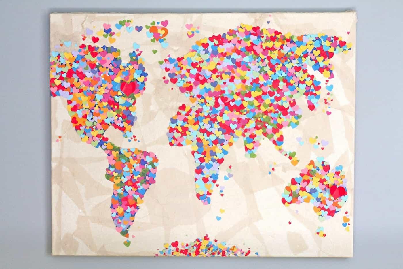 DIY heart map